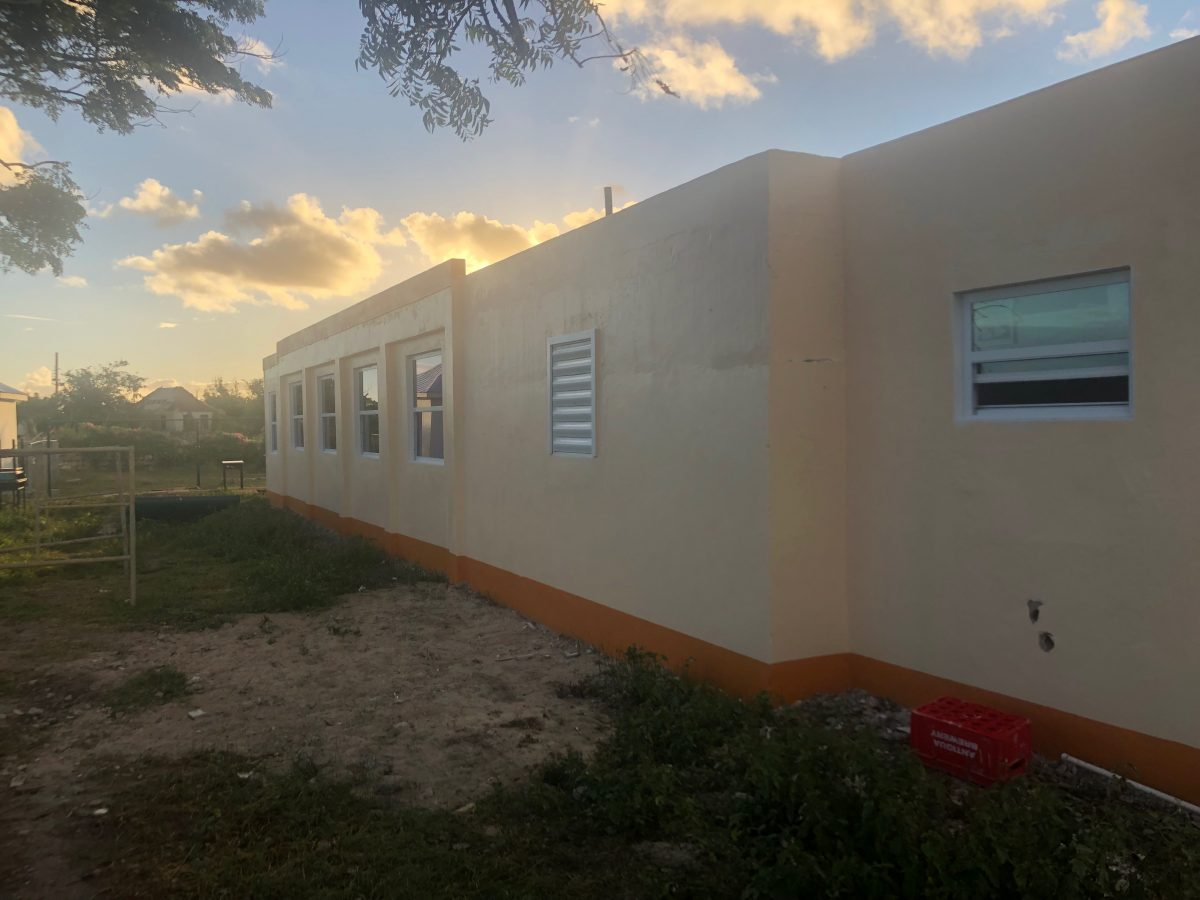 Daycare Center Close to Finished